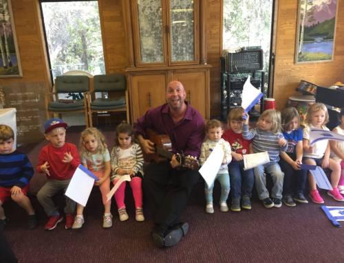 Simchat Torah celebration in the Preschool